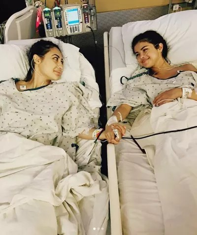 Selena Gomez and Francia Raisa, Kidney Donation