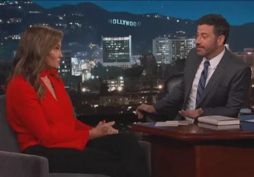 Caitlyn Jenner and Jimmy Kimmel