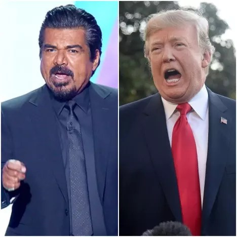 George Lopez-Donald Trump
