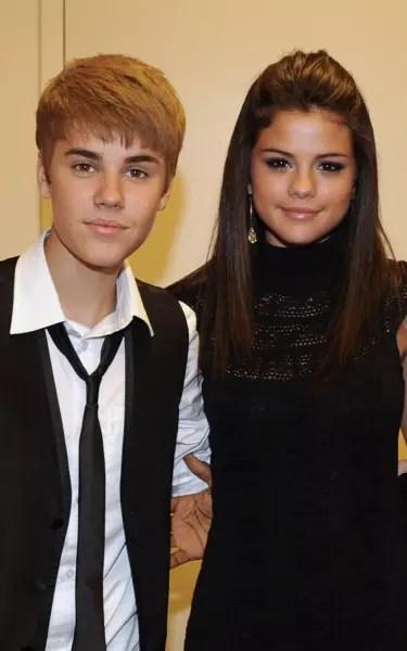Justin Bieber and Selena Gomez in 2011