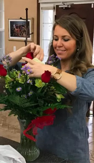 Jana Duggar on Valentine's Day