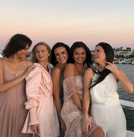 Selena Gomez Yacht Party Pics