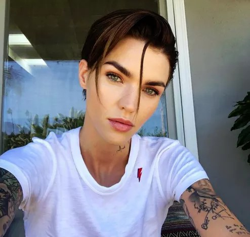 Ruby Rose Looks Great on Instagram