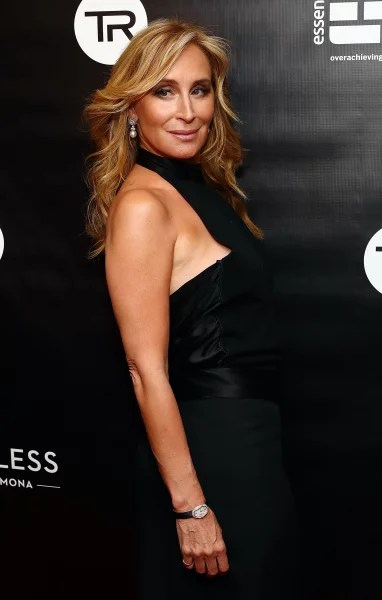 Sonja Morgan in Black
