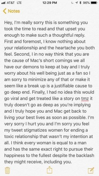 Fan apologizes to Ariana Grande