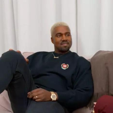 Kanye on KUWTK