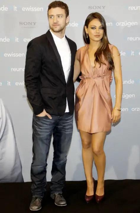 Mila Kunis Phone Hacked Seductive Justin Timberlake