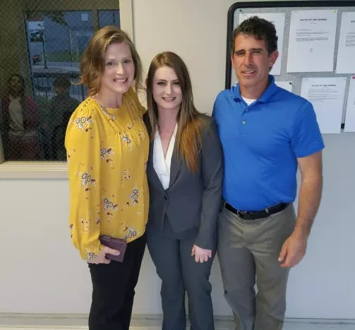 Jessica Seewald and Parents