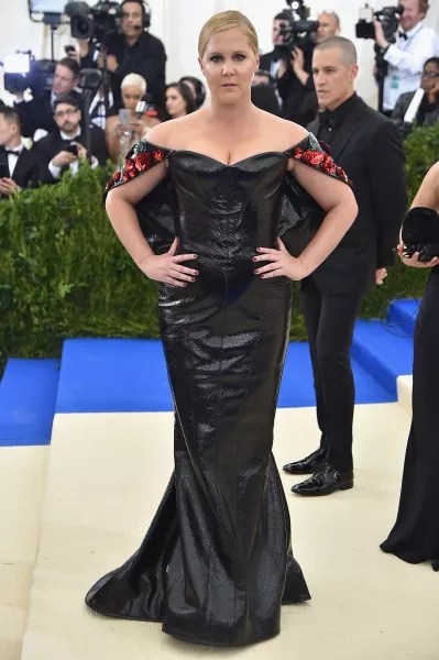 Amy Schumer at 2017 MET Gala