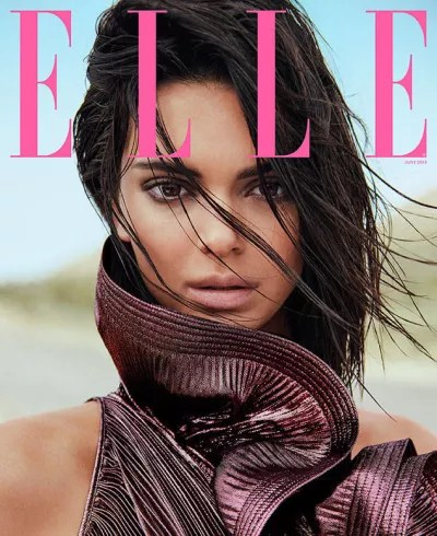 Kendall Jenner for ELLE