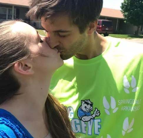 Derick Dillard With Jill Duggar on Instagram