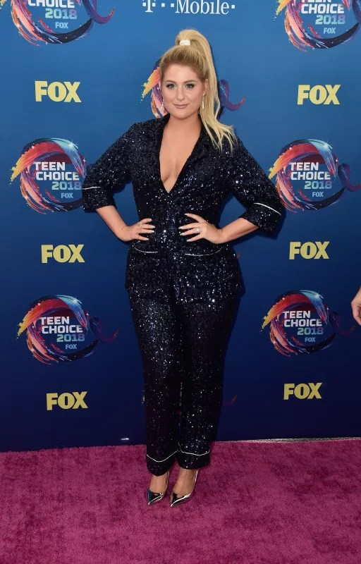 Meghan trainor at the tcas