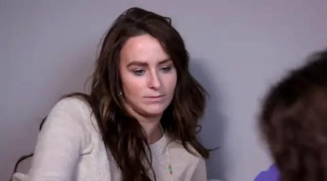 Leah messer is struggling
