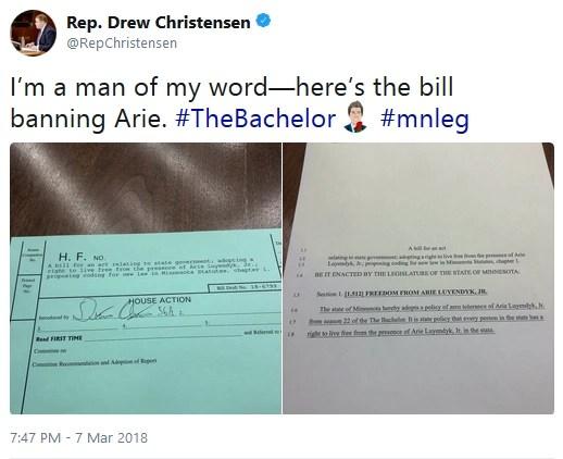 Bill to Ban Arie Luyendyk Jr