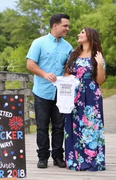 Deena Cortese and Christopher Buckner