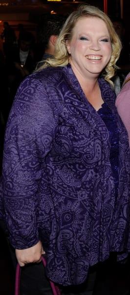 Janelle Brown in Purple