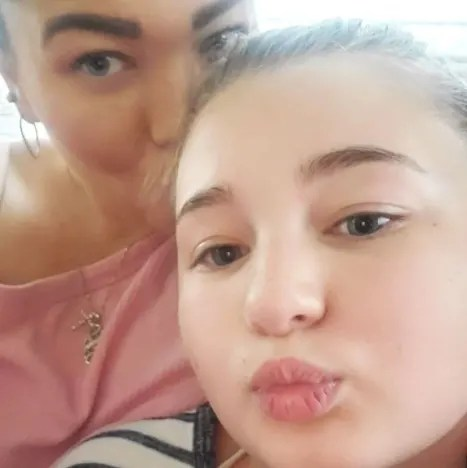 Amber Portwood Selfie with Daughter