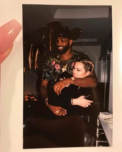 Khloe and Tristan Thompson Picture