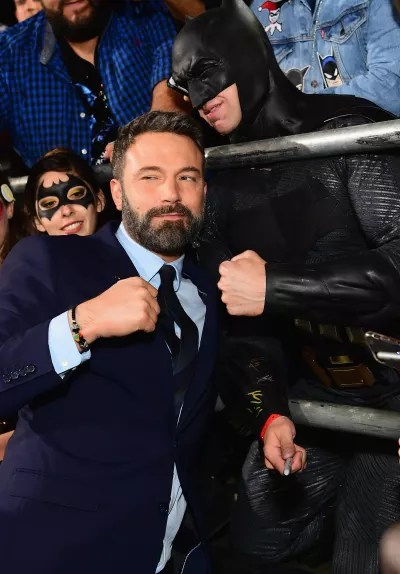 Ben Affleck and a Fan