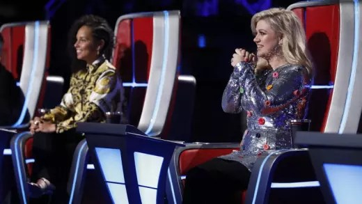 Kelly Clarkson, Alicia Keys on The Voice Season 14