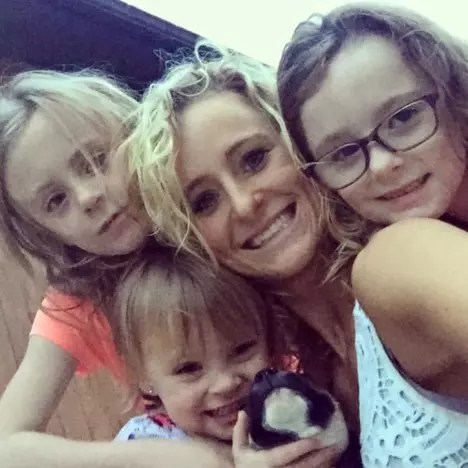 Leah Messer and Her Kids
