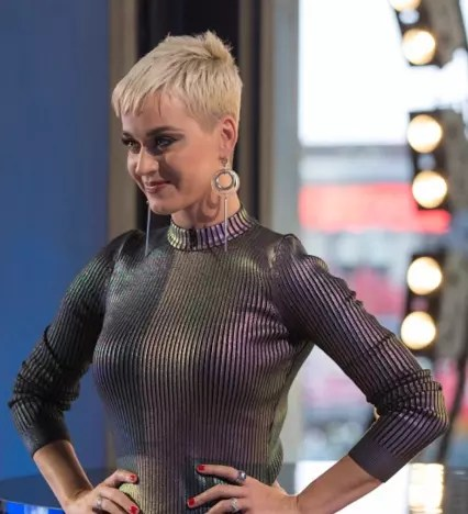 Katy Perry on ABC's American Idol