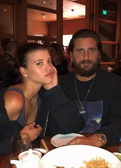 Sofia Richie and Scott Disick Look Sad