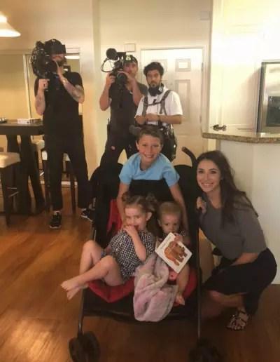 Bristol Palin and Crew