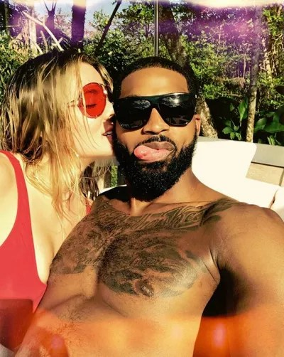 Khloe and Tristan Thompson, All My Love