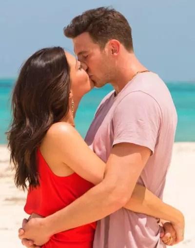 Becca Kisses Blake