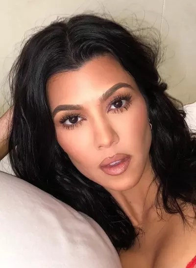 Kourtney Kardashian All Made Up