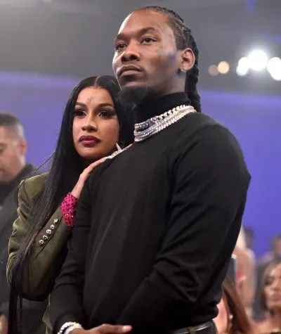 Cardi B and Offset Together