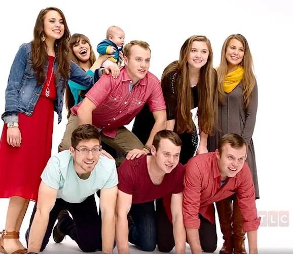 The duggar family a photo