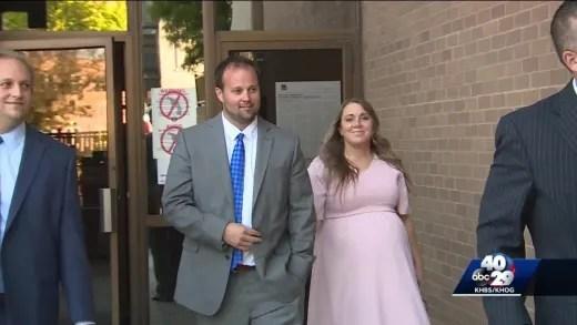 Josh and Anna at Court
