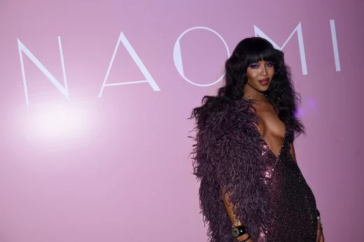 Naomi Campbell Celebrates Her New Book In New York