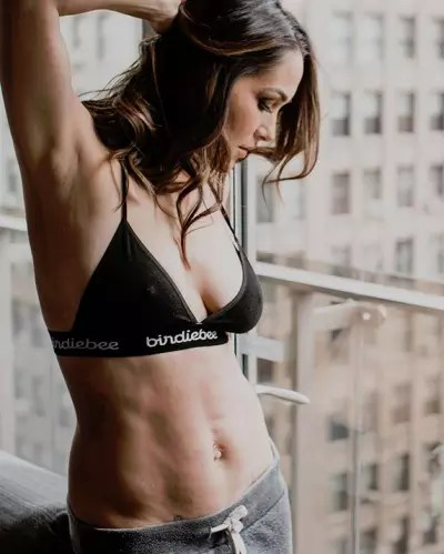 Brie Bella, Post-Baby Body