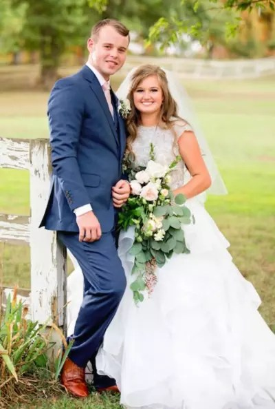 Kendra Caldwell, Joe Duggar Wedding Photo