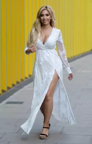 Farrah Abraham Walking the Street