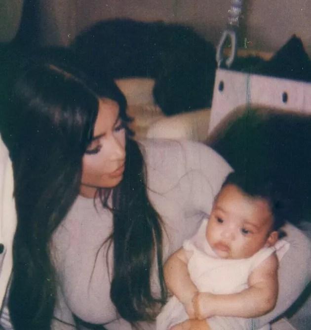 Kim Kardashian Shares First Photo Of Chicago True And