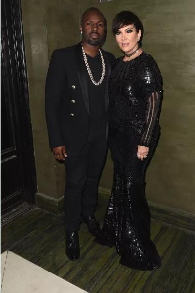 Kris Jenner and Corey Gamble: Balmain Met Gala After Party