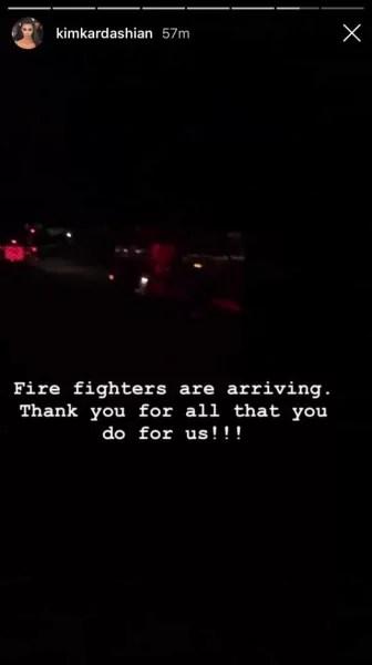 thanks, fire trucks!