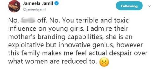 jameela tweet