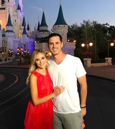 Lauren Bushnell and Ben Higgins on Vacation
