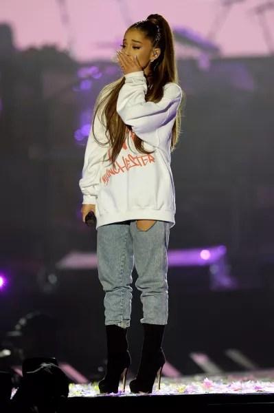 Ariana Grande Manchester Concert Photo