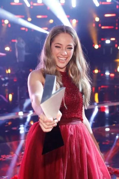 Brynn Cartelli Wins The Voice Season 14