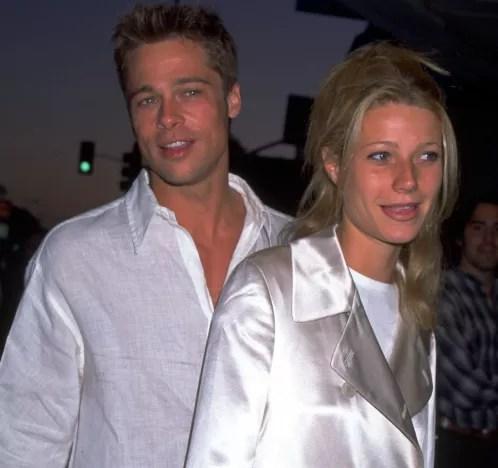 Brad Pitt and Gwyneth Paltrow dating photo
