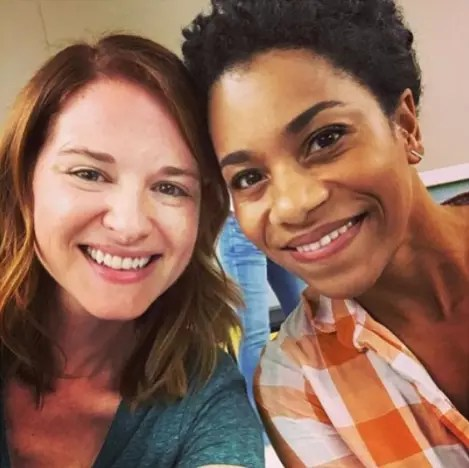Sarah Drew and Kelly McCreary