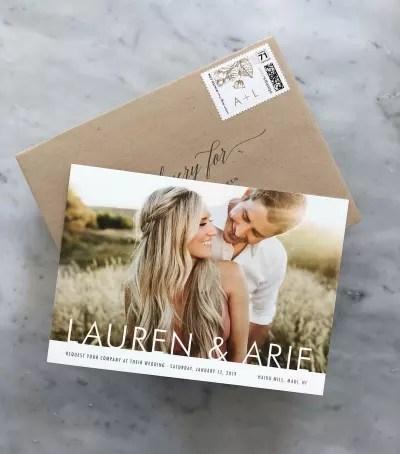Arie Luyendyk Jr. & Lauren Burnham - Save The Date