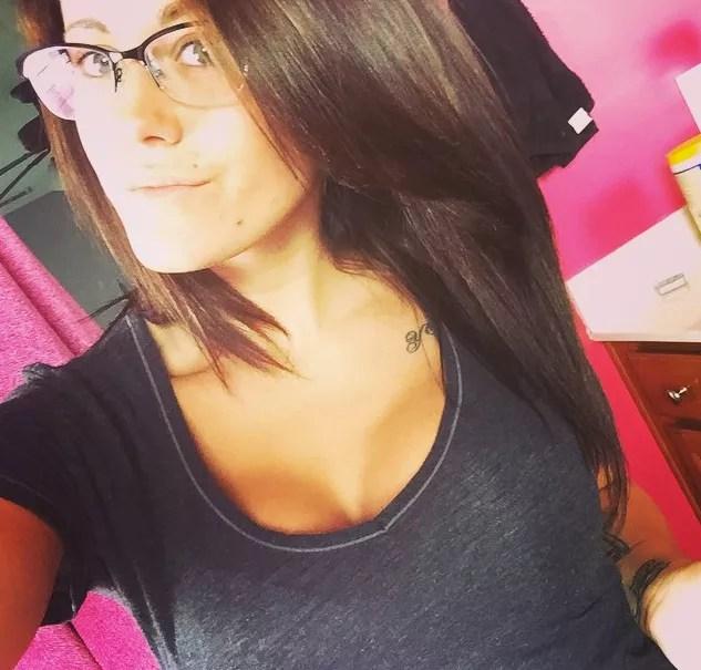 Jenelle evans fake boobs