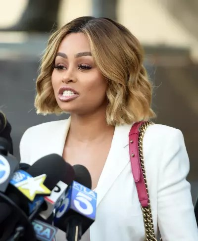 Blac Chyna at the Mic